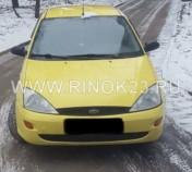 Ford Focus 2001 Хетчбэк Белая-Глина
