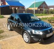 Renault LOGAN седан 2016 г. бензин 1.6 л МКПП Краснодар