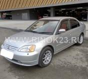 Honda Civic  2002 Седан Новороссийск