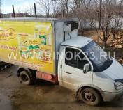 ГАЗ 3302 (Газель) изотермический фургон 2007 г. газ-бензин 2.5 л МКПП