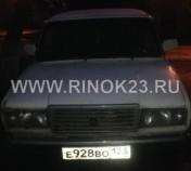 ВАЗ 2107 cедан  2006 г. бензин 1.6 л, МКПП Краснодар