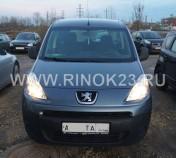 Peugeot Partner 2011 Минивэн Краснодар