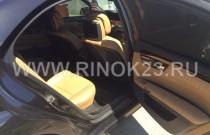 Прокат-аренда автомобилей представительского класса в Краснодаре