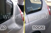 Ремонт удаление вмятин без покраски кузова авто СТО АВТОДЕНТ23