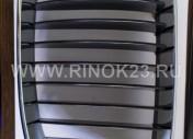Решетка радиатора левая хром/черная  X-1  E81 Краснодар