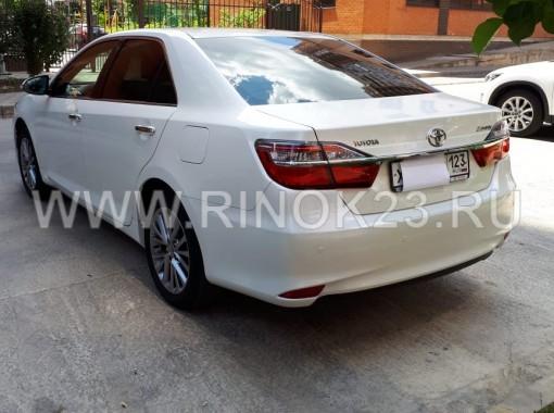 Toyota Camry 2016 седан бензин 2.5 л АКПП Краснодар