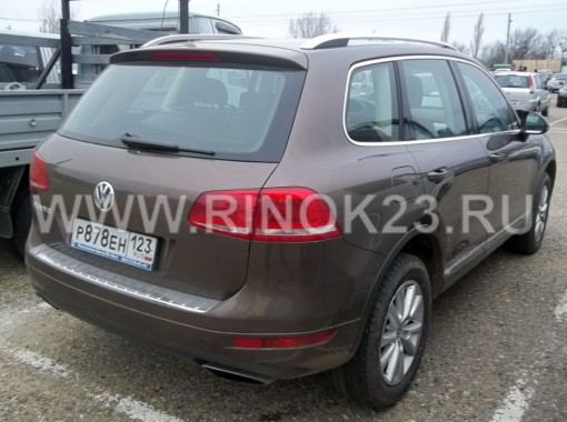 Volkswagen Touareg 2012 Внедорожник