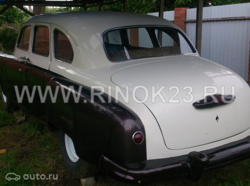 ГАЗ 12 ЗИМ лимузин 1960 г бензин 3.5 л МКПП Краснодар