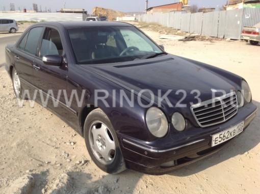 Mercedes-Benz  Е 320 2001 Седан Новороссийск