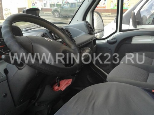 FIAT Дукато фургон 2008 г. дизель турбо 2.3 л МКПП Краснодар