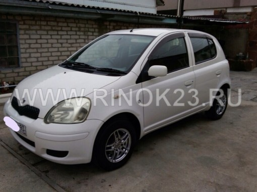 Toyota Vitz 2003 Хетчбэк