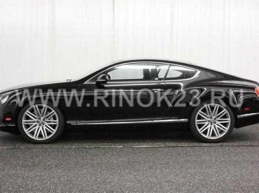 Bentley Continental GT 2013 Купе Краснодар