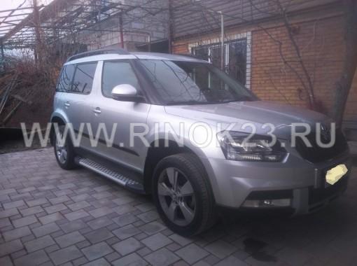 Skoda Yeti кроссовер 4WD 2014 г. бензин турбонаддув 1,8 л АКПП