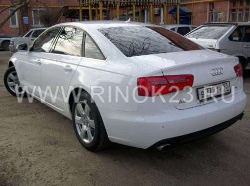 Audi A6 2013 СеданАКПП турбо