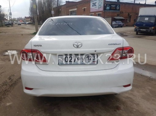 Toyota Corolla,  2013 Седан Краснодар