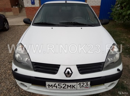 Renault Simbol 2006 Седан Кореновск