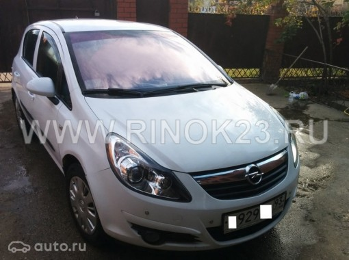 Opel Corsa хетчбэк 2007 г. бензин 1.4 л МКПП Краснодар