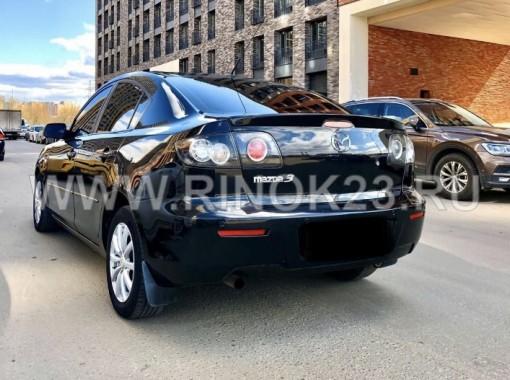 Mazda 3 2008 Седан Геленджик