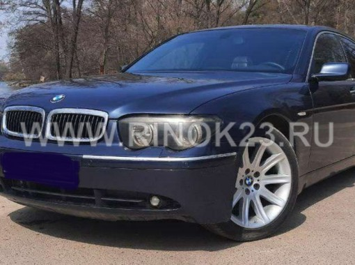 BMW 730 2004 Седан Анапа