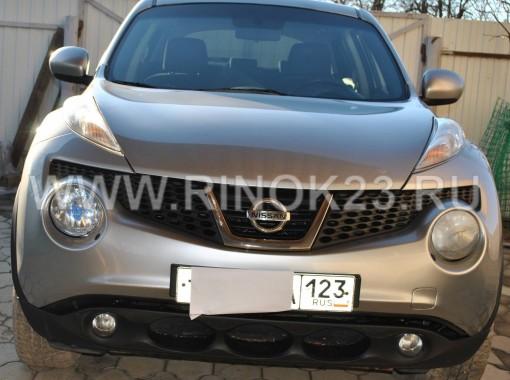 вид спереди - Nissan Juke 2012 г. бензин 1.6 МКПП
