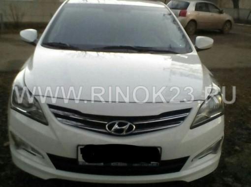 Hyundai Solaris Седан 2014 г. бензин 1.6 л АКПП белый