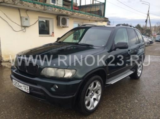 BMW X5 4WD 2000 г. бензин 4,4 л. Внедорожник