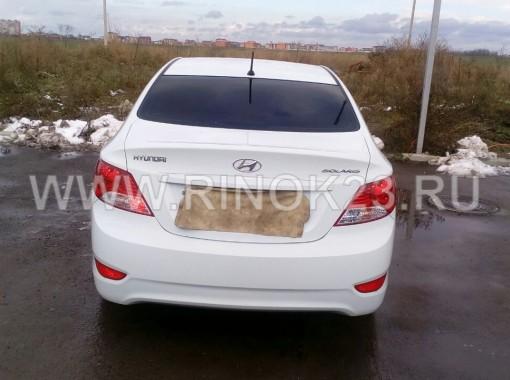 Hyundai Solaris 2014 г. дв. 1.6 МКПП Седан