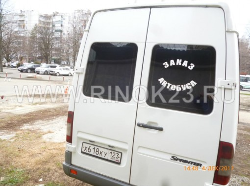 Mercedes-Benz Sprinter 413 CDI 2007 Микроавтобус Краснодар