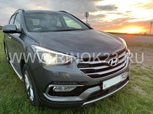 Hyundai santaFE 2018 Кроссовер КРАСНОДАР