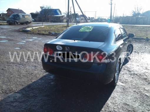 Honda Civic седан 2008 г. бензин 1.8 л АКПП