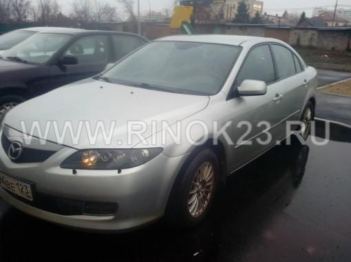 Mazda 6 седан 2006 г. бензин 1.8 л МКПП