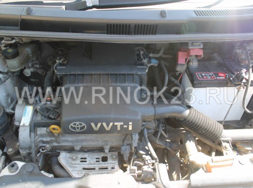 Toyota Ractis минивэн 2006 г. бензин 1.3 л АКПП вариатор Тихорецк