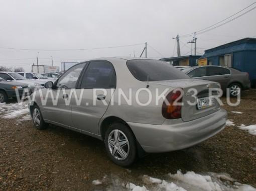 Chevrolet Lanos  2007 Седан Усть-Лабинск