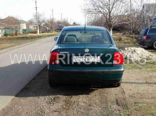 Volkswagen Passat B5 седан 1997 г бензин 1.6 л МКПП Кропоткин