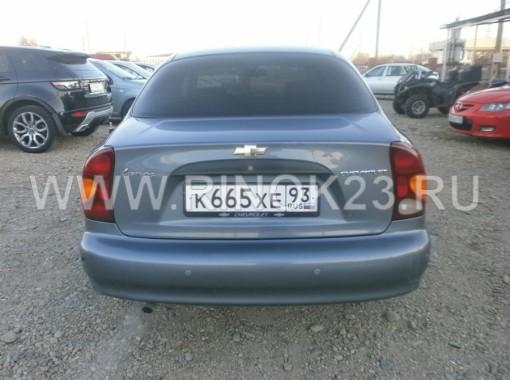Chevrolet Lanos 2008 Седан Усть-Лабинск