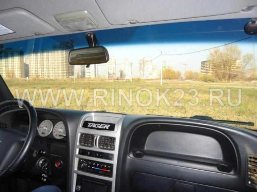 ТагАЗ Tager внедорожник 2009 г. бензин 2.3 л МКПП Краснодар