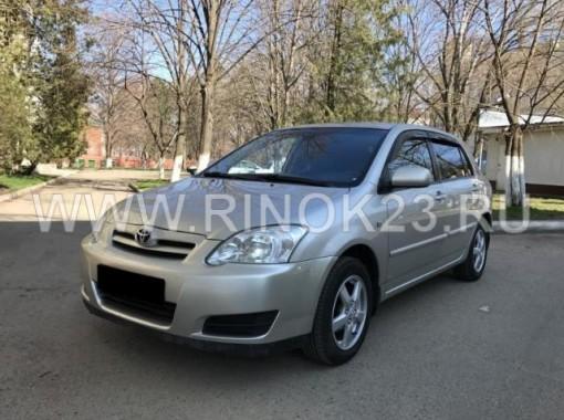 Toyota Corolla хетчбэк 2006 г. бензин 1.6 л МКПП