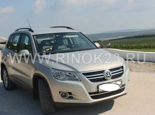 Volkswagen Tiguan кроссовер 2010 г 4WD бензин 1.4 л МКПП Новороссийск