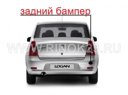 Бампер задний Рено Логан в цвет кузова авто до 2009 г. в Краснодаре