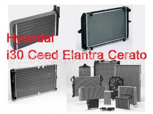 Радиатор кондиционера Hyundai i30 Ceed Elantra Cerato 2007 г. в Краснодаре
