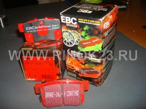 EBC Brakes Redstuff Front Ceramic Low Dust Brake Pad