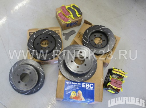 Тормозные диски BMW F10 3.0L Краснодар