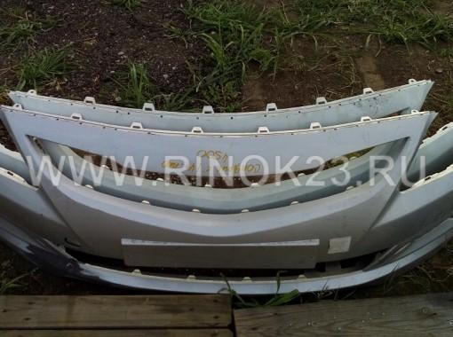 Хендай Солярис (Hyundai Solaris) бампер передний б.у оригинал с 2014 г.