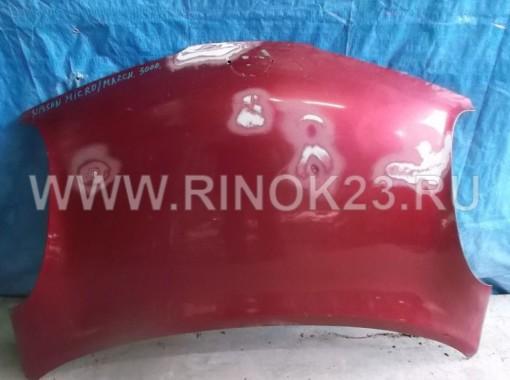 Капот Nissan Micra March K12 б/у в Краснодаре
