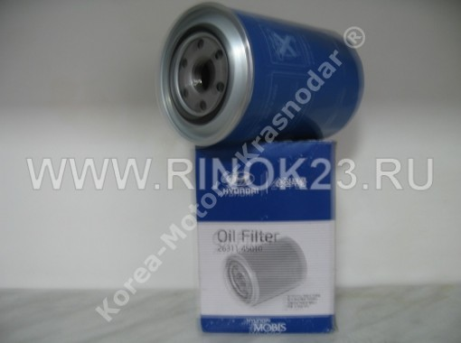 Масляный фильтр двигателя HYUNDAI HD65, 72, 78 в Краснодаре