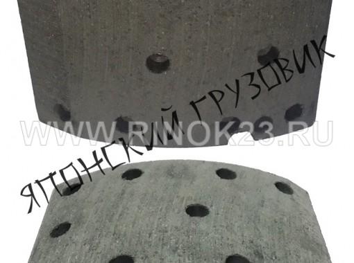 Накладки тормозные на японский грузовик ISUZU Краснодар