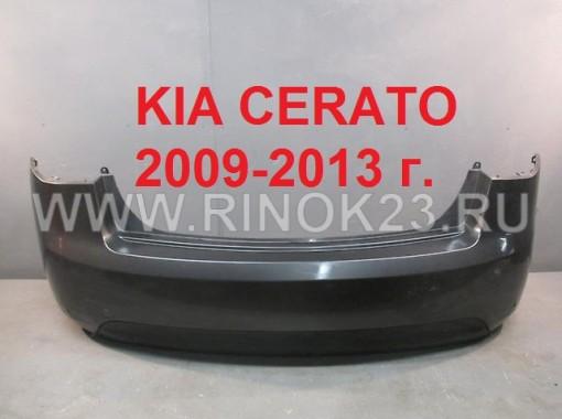Бампер задний KIA СERATO 2009-2013 г. в цвет кузова, серо-черный Краснодар