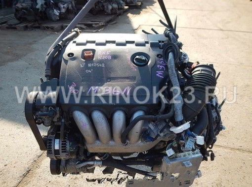Двигатель K20B (ДВС) Honda Stream RN5 б/у контрактный Краснодар