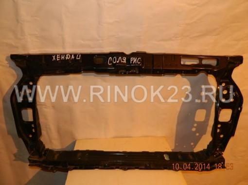 Панель передняя (телевизор) б/у на Hyundai Solaris/Хундай Солярис