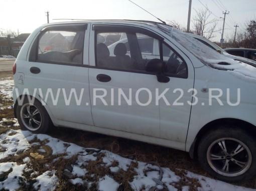 Запчасти Daewoo Matiz авто в разборе  Краснодар